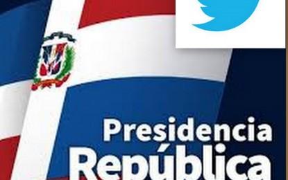 DESPUES DE MEXICO, REPUBLICA DOMINICANA ES LA PRESIDENCIA MAS ACTIVA EN TWITTER.