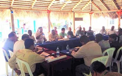 CELEBRAN EN DAMAJAGUA REUNION TRIMESTRAL DIRECTORES PROVINCIALES MEDIO AMBIENTE.