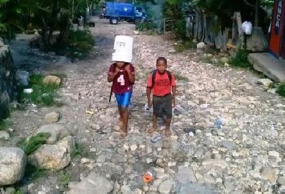 """Moradores de Bella Vista San Marcos """"AL GRITO"""" por mal estado de calles."""
