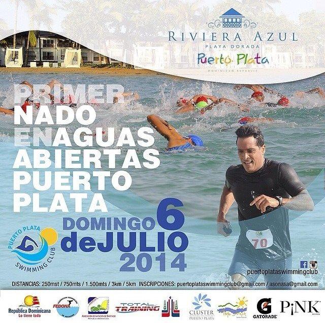 Anuncian Primer Nado Aguas Abiertas Puerto Plata.