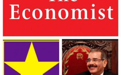 "Prestigiosa Revista THE ECONOMIST: ""PLD retendrá el poder en 2016""."