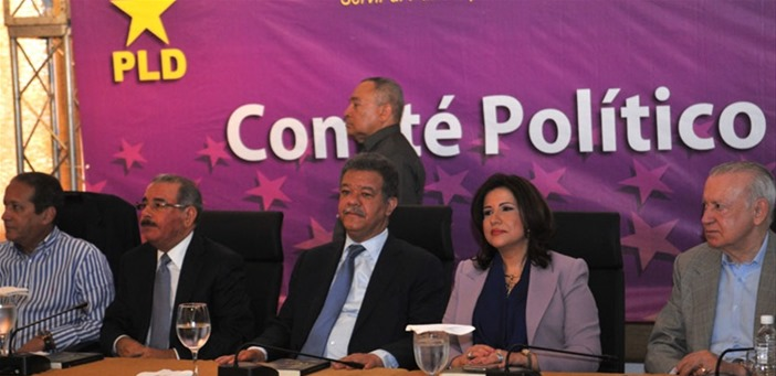 COMITÉ POLÍTICO PLD APRUEBA SOMETER PROYECTO LEY PERMITA REELECCIÓN DANILO MEDINA.