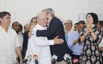 HIPÓLITO MEJÍA RECONOCE TRIUNFO DE LUIS ABINADER EN CONVENCIÓN PRM.