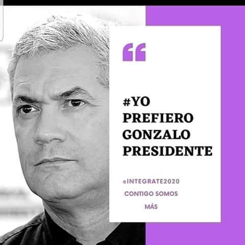 Yo prefiero Gonzalo Presidente!