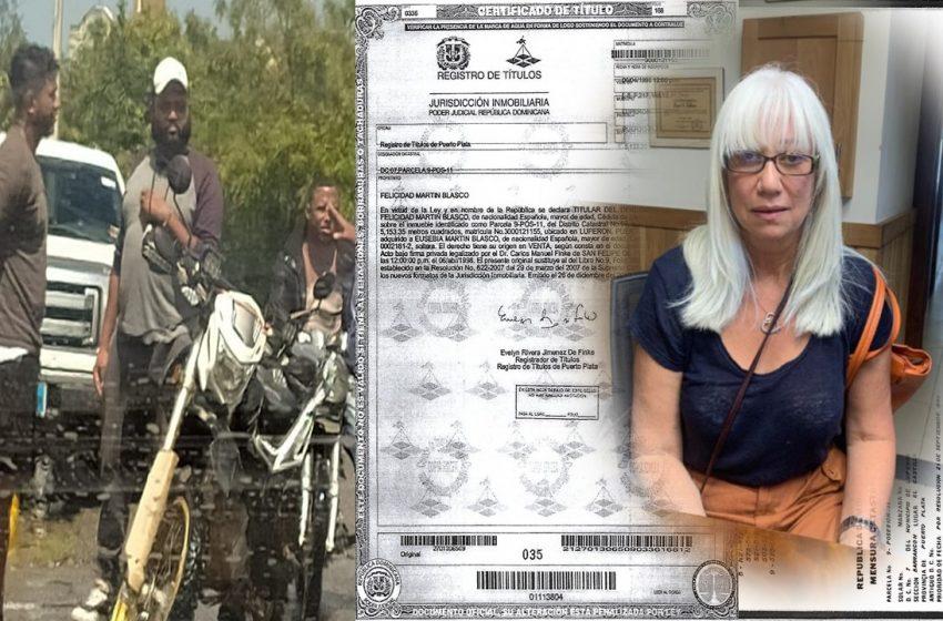 INVASORES AGREDEN Y AMENAZAN DUEÑA TERRENO EN EL CASTILLO LUPERÓN; EXIGEN RD$1.6 MM PARA DEJARLA OCUPAR SU PROPIEDAD.