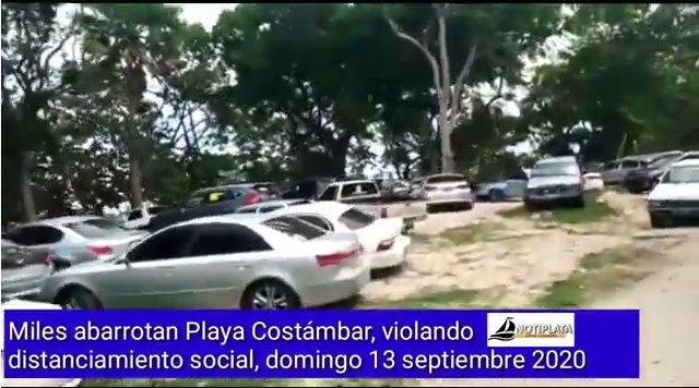 VIDEO: MILES ABARROTAN PLAYA COSTÁMBAR EN VIOLACIÓN DISTANCIAMIENTO SOCIAL, A PESAR DE ESFUERZOS DE AUTORIDADES PP.