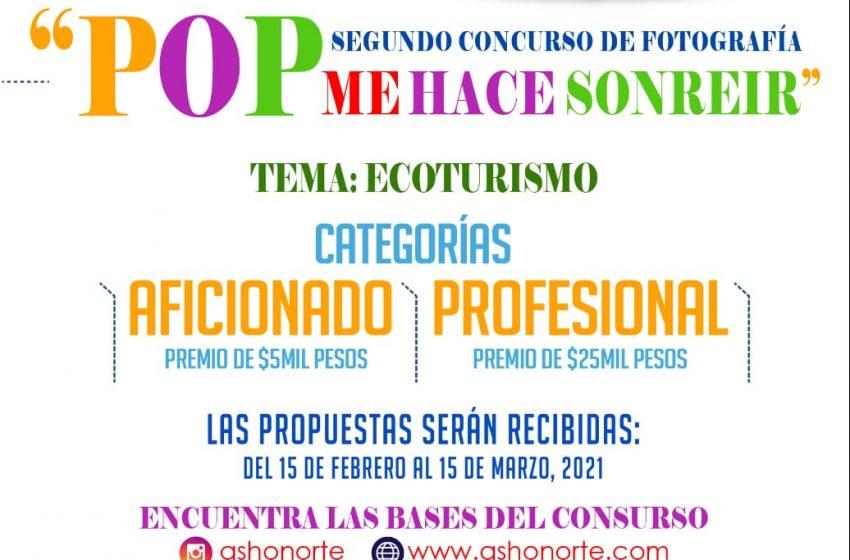 """ASHONORTE CONVOCA SEGUNDA EDICIÓN CONCURSO FOTOGRÁFICO """"POP ME HACE SONREÍR""""."""
