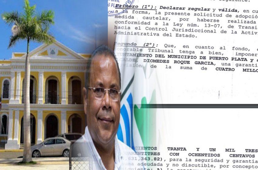 SOLICITAN CONDENA RD$4.6 MILLONES CONTRA AYUNTAMIENTO P.P. Y ROQUELITO GARCÍA.