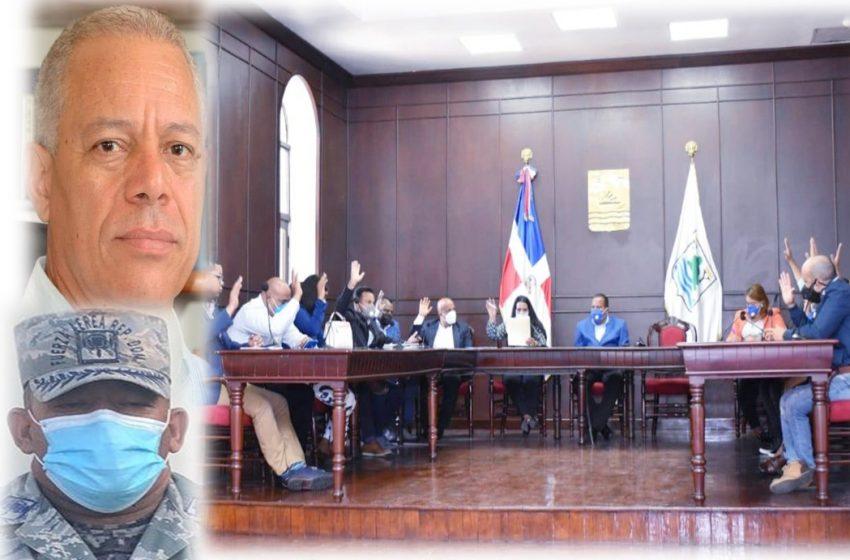 REGIDORES PP SUSTITUYEN JEFE POLICÍA MUNICIPAL, ACOGEN RENUNCIA ÁNGEL ARTILES Y APRUEBAN PRESUPUESTO YÁSICA RD$23.2 MM.
