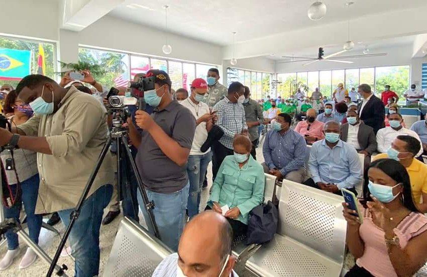 CONVOCADOS POR SECRETARIO GENERAL, MIEMBROS ADOMPRETUR ACUDEN MASIVAMENTE A EVENTO 46 ANIVERSARIO TELEFÉRICO PUERTO PLATA.