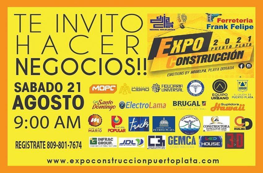 INAUGURACIÓN EXPO CONSTRUCCIÓN PUERTO PLATA 2021.